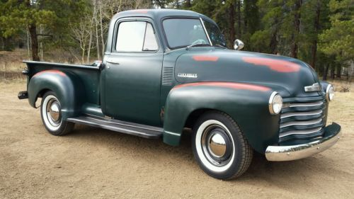 1951 Chevy Truck Shortbed 1951 Chevy Truck Chevy Trucks Chevy Trucks For Sale