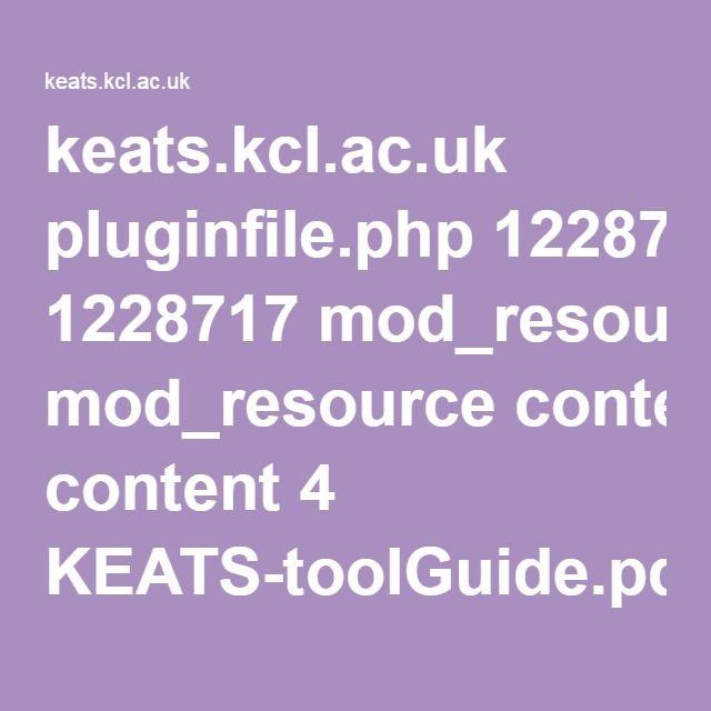 Keats Kcl Ac Uk Pluginfile Php 1228717 Mod Resource Content 4