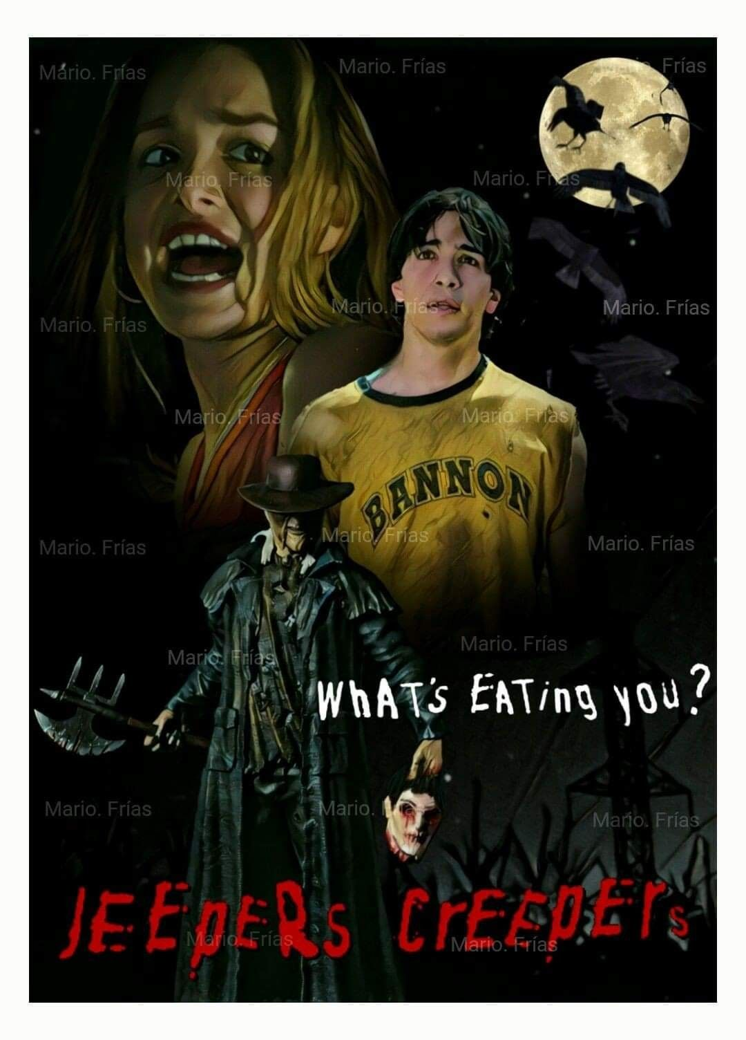 Pin By Matthias Foo On Poster Stuff Best Horror Movies Jeepers Creepers Thriller Movies