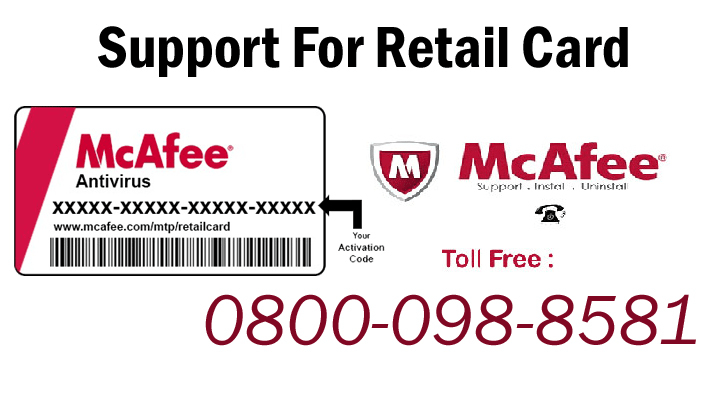 Mcafee Livesafe Retail Cards A New Way To Install Software With