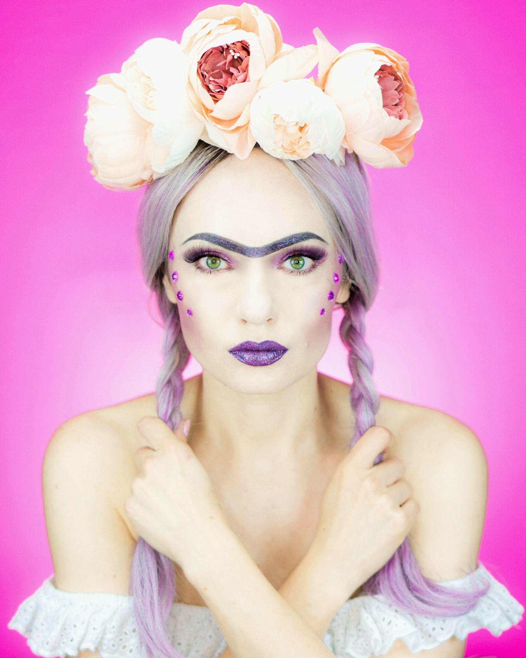 Frida Kahlo Halloween Makeup Tutorial Halloween makeup