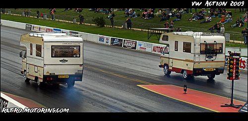 Drag race VW T3 Karmann Gipsy