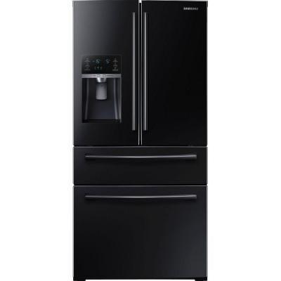 Samsung 2815 Cu Ft 4 Door French Door Refrigerator In Black