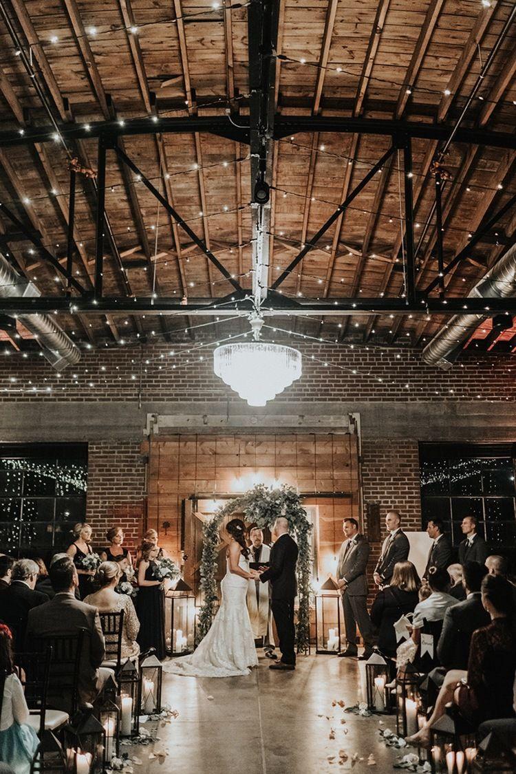 The Hudson Wichita Kansas Wedding Venue Industrial Wedding