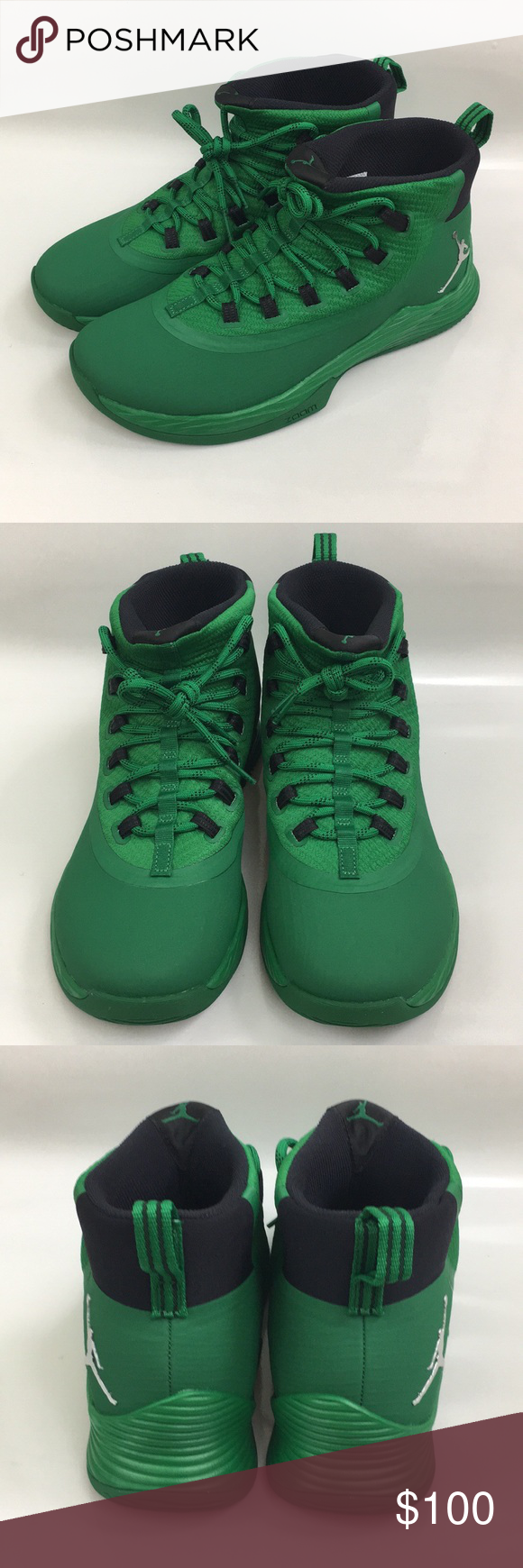 562893d5469b Nike Jordan Ultra Fly 2 Zoom TB Pine Green 12 ITEM  Nike Jordan Ultra Fly 2  Zoom TB Pine Green SIZE  12 CONDITION  New without box 100% Authentic Shoes  ...