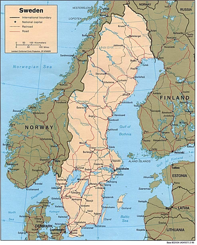 Sweden Photos Sweden Map Sweden Cities History Of Sweden