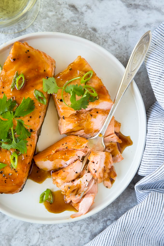 Photo of Easy Vietnamese Caramel Salmon {Oven Baked or Instant Pot} | Simple Healthy Kitchen