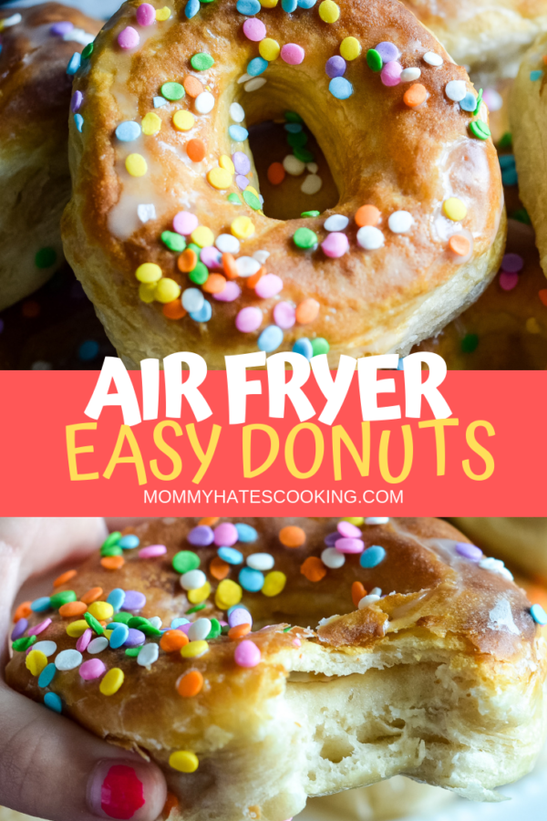 Easy Air Fryer Donuts with Biscuits Recipe (With images