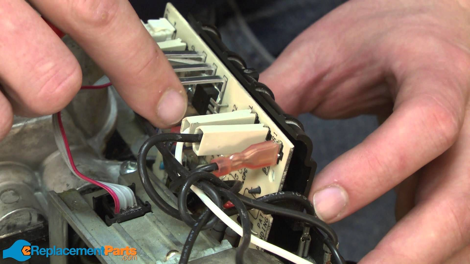How to replace the speed control board on an older style