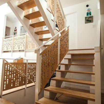 Staircase solutions for small spaces Design Ideas, Pictures, Remodel
