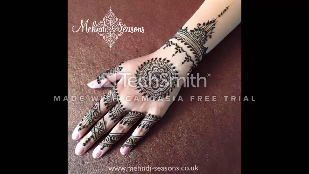 Mehndi design 2017 new - New Beautiful Mehndi Designs 2016 2017 Samina Kousar