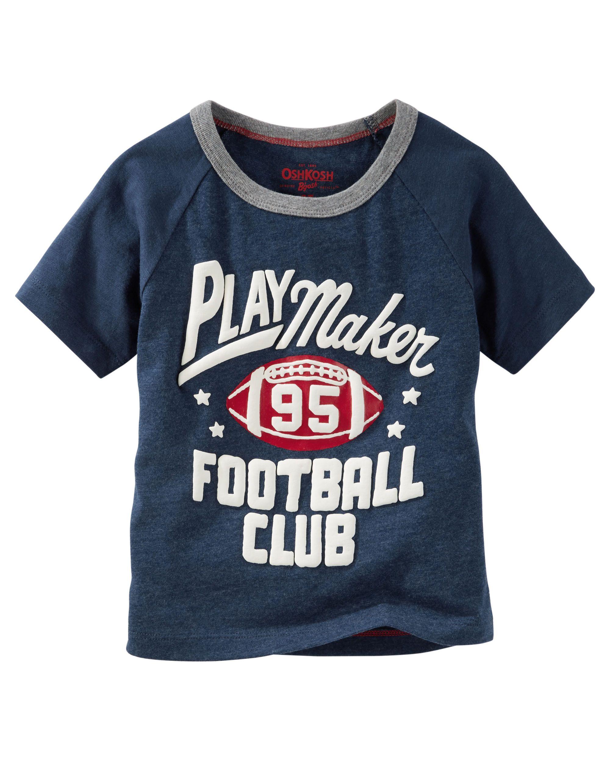 Raglan Football Tee Camisetas Ni O Camisetas Y Beb Var N # Ragla Muebles Infantiles