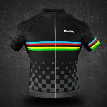 Kallisto jersey fietsshirt Black Champion. Dit wielershirt