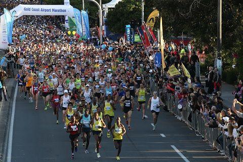 Gold Coast Marathon 5-6 July 2014