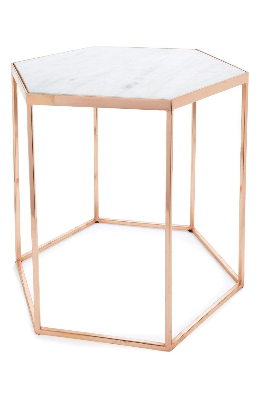 Bloomingville Hexagonal Accent Table | Nordstrom