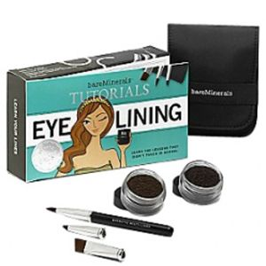 bareminerals tutorial kit  eye lining 3 products with