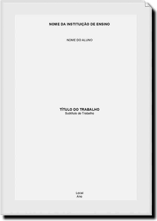 Modelo de capa nas normas | CAPA TYRABALHOA | Pinterest | Anatomía ...
