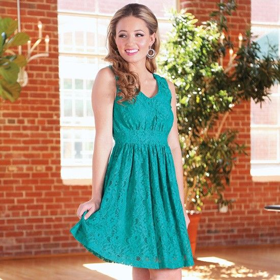 Wrangler Full Lace Teal Dress | Because it can... | Pinterest | Teal ...
