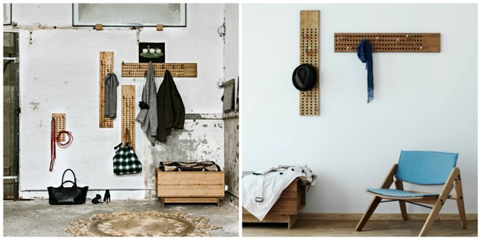 recibidores, dos ideas de recibidores en estilo minimalista con