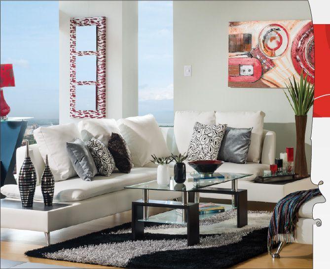 Noticias y tendencias aprende a decorar una sala con for Decorar sala comedor en departamento pequeno