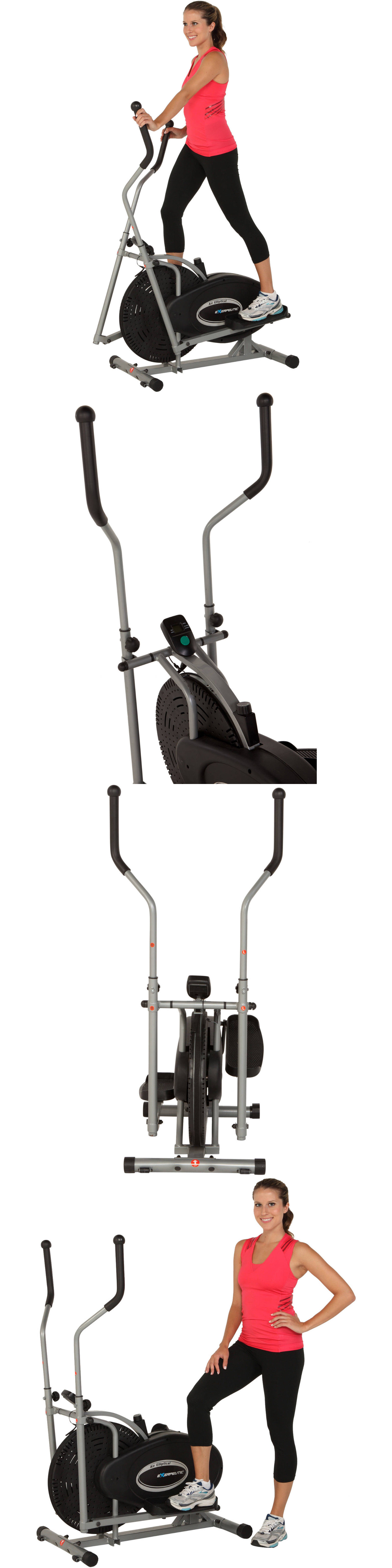 Stair Machines And Steppers 28062: Exerpeutic 260 Air Elliptical   Low  Impact   Aerobic