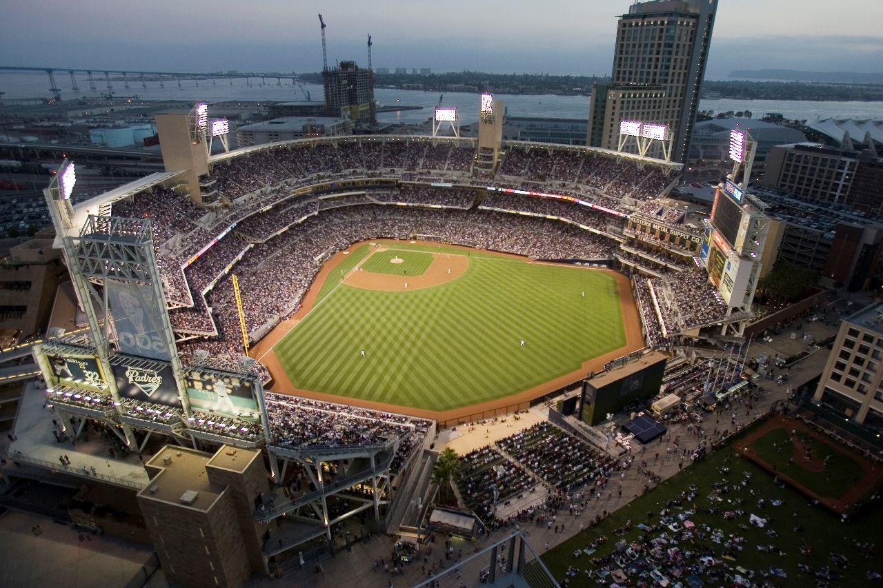 Petco Park San Diego California Home Of The San Diego Padres Petco Park Petco Baseball Stadium