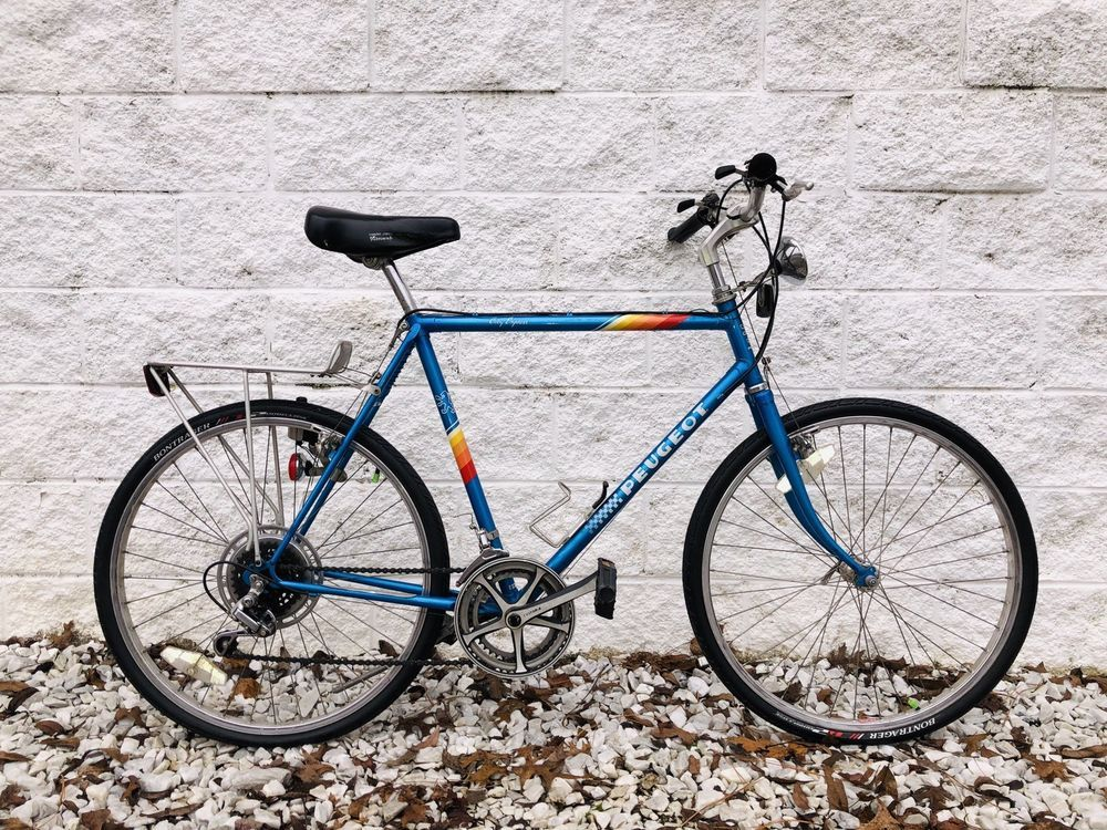 Peugeot City Express Commuter Road Bike 12 Speed 22 5 Frame W Extras Peugeot Bike Bike Road Bike