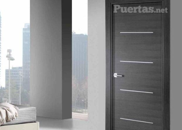 puertas madera gris buscar con google puertas On puerta interior gris