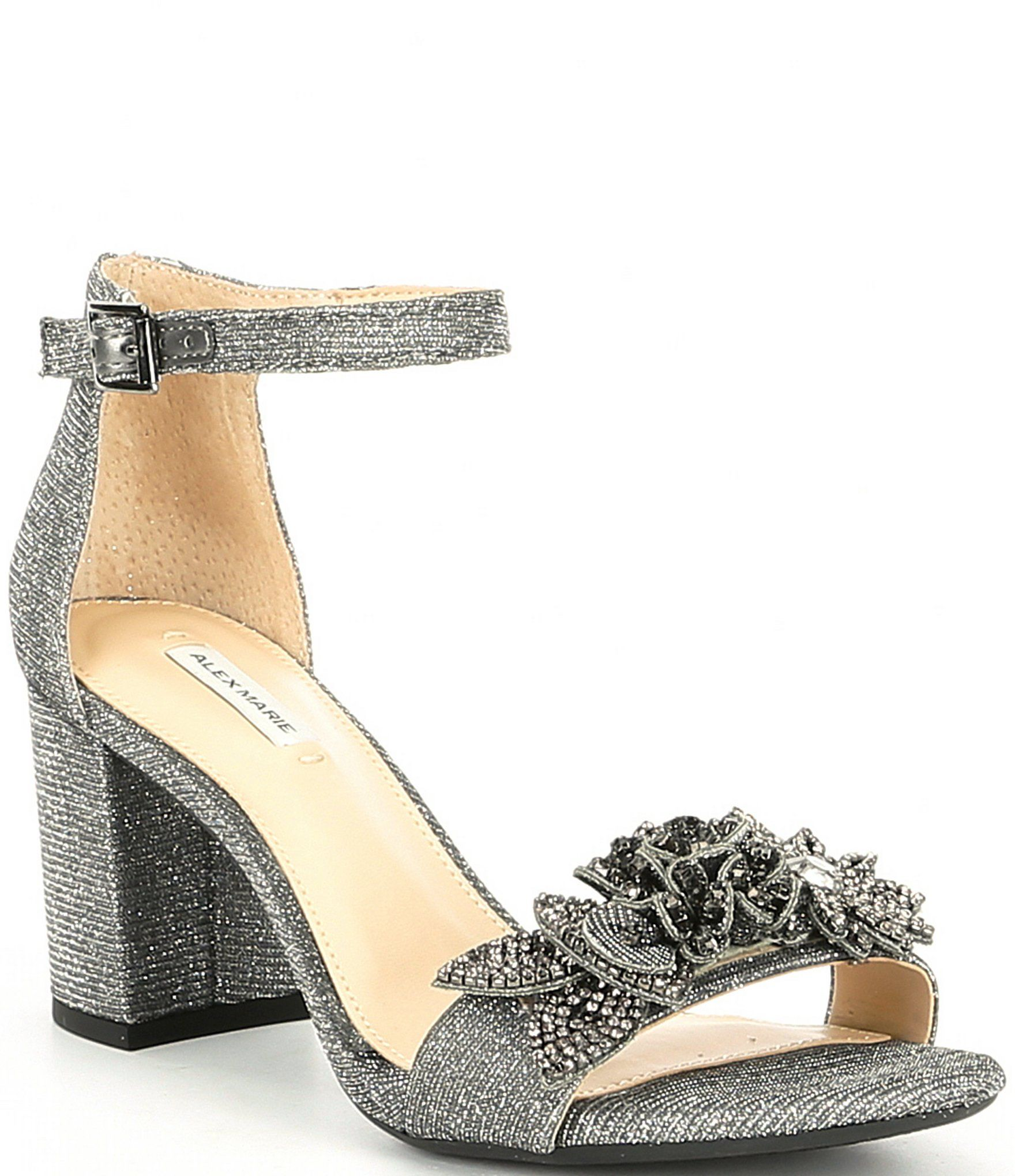 Alex marie harlean block heel dress sandals dillards in