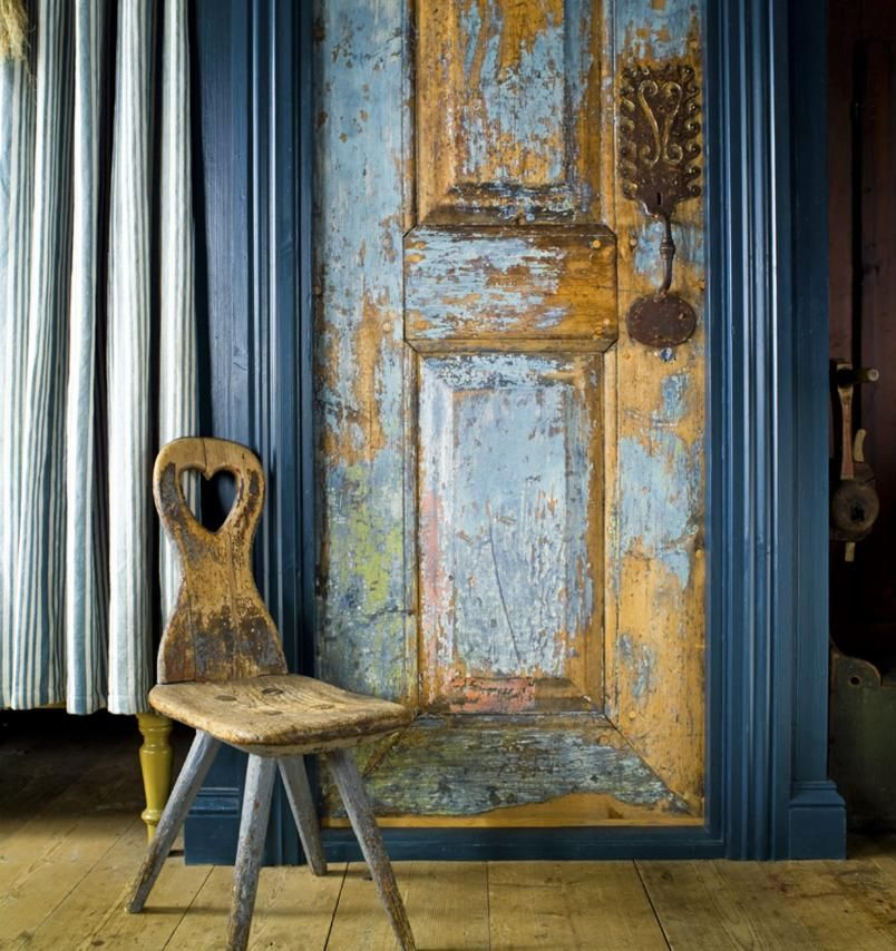 The Essence Of The Good Life Interior That Strikes Everything Creative Living Wooden Doors Old Doors