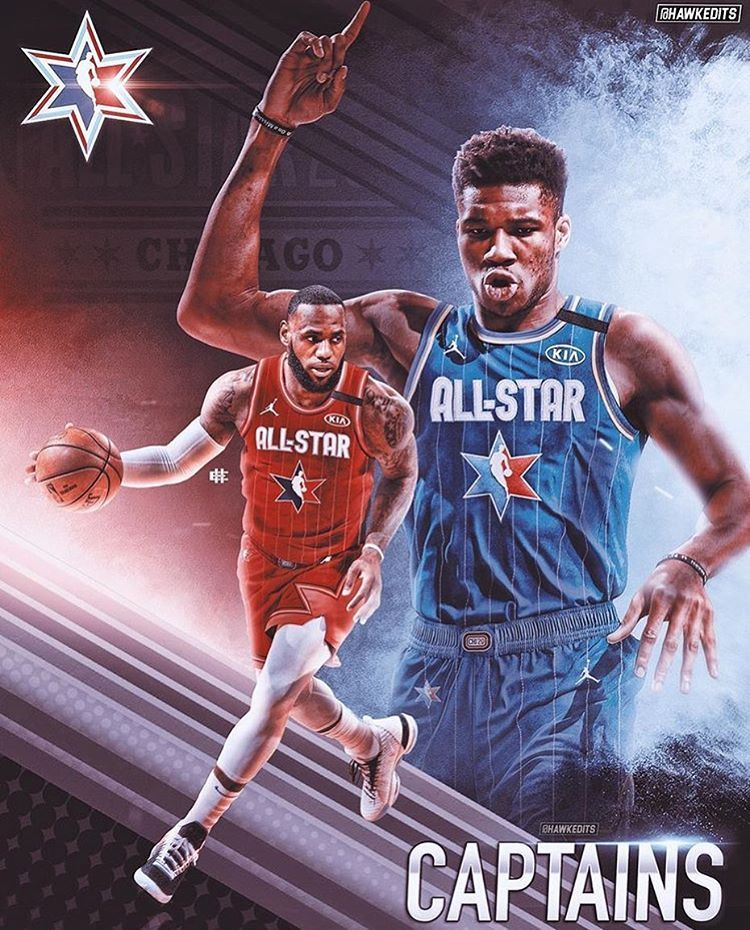 Lebron James On Instagram New Nba All Star Game Format Team Lebron And Team Giannis Will Compete To Win Each In 2020 Lebron James All Star Basketball Players Nba