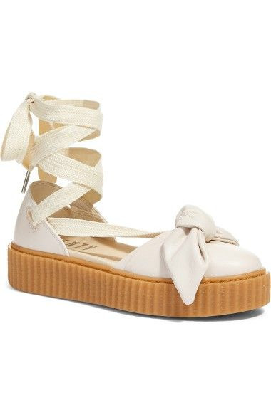 Compare and shop from fashion stores for PUMA Fenty By Rihanna Bow Creeper  Sandal 9aa8723ac