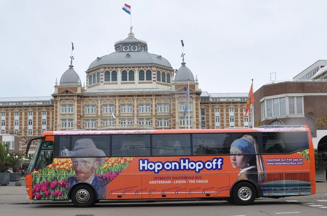 City Sightseeing Amsterdam Hop On Hop Off Tour With Boat Option