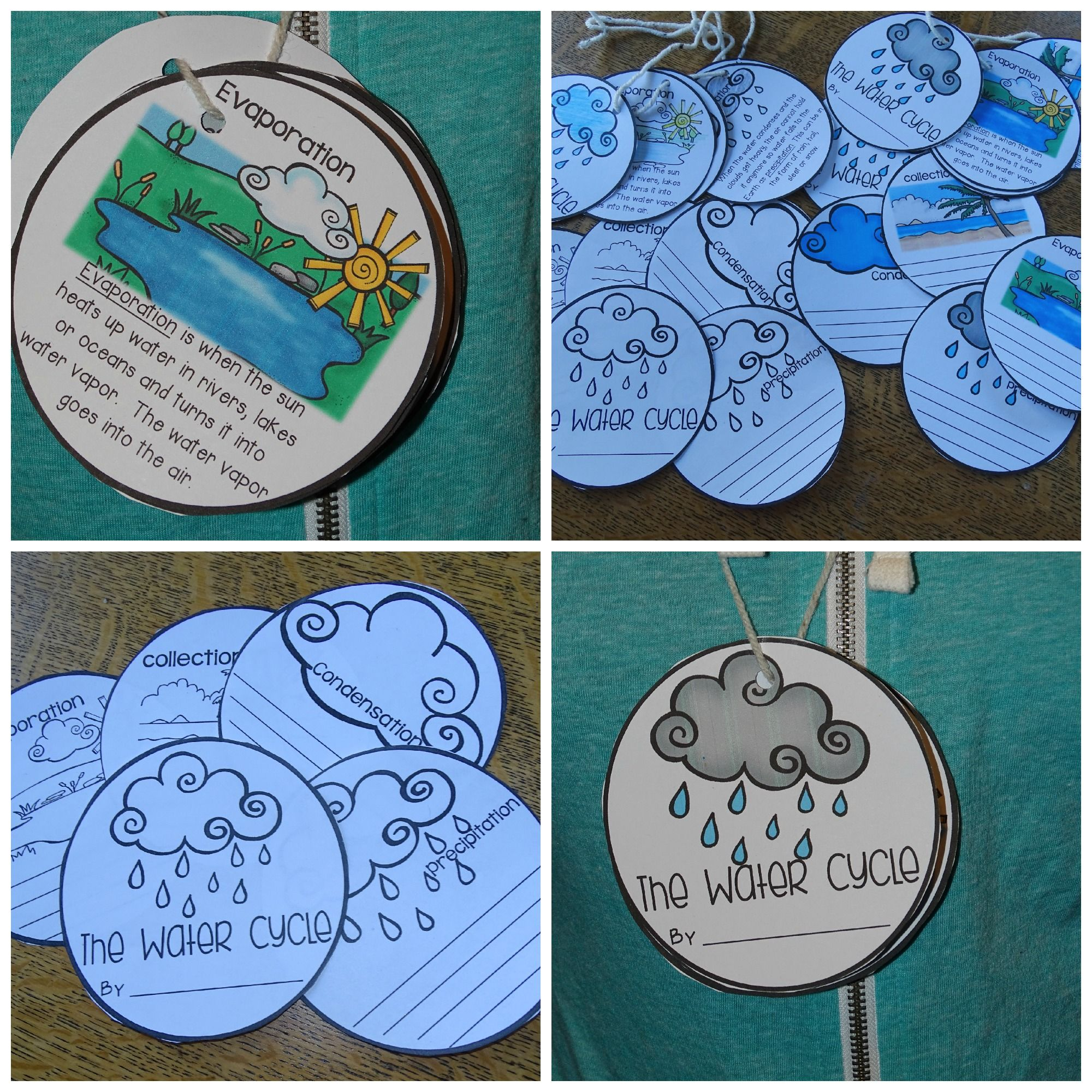 Water Cycle Activity Making Your Own Water Cycle Necklace