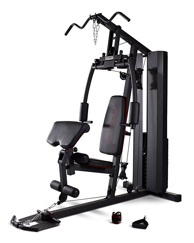 9e3f3ca7ed3 Marcy Stack Dual Function Home Gym – 200 lb. Stack MKM-81010 ...
