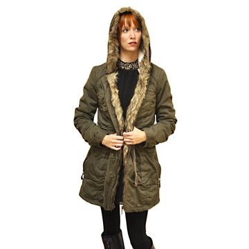 M Sylcom fashion faux shearling-lined anorak