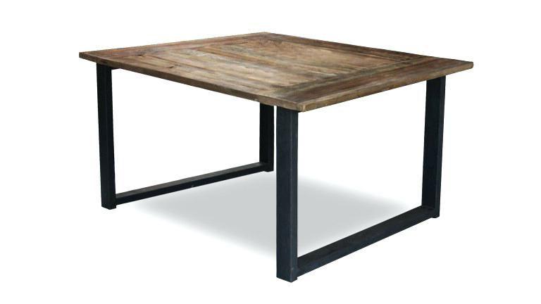 15 Genial Table Carree Bois Massif Gallery