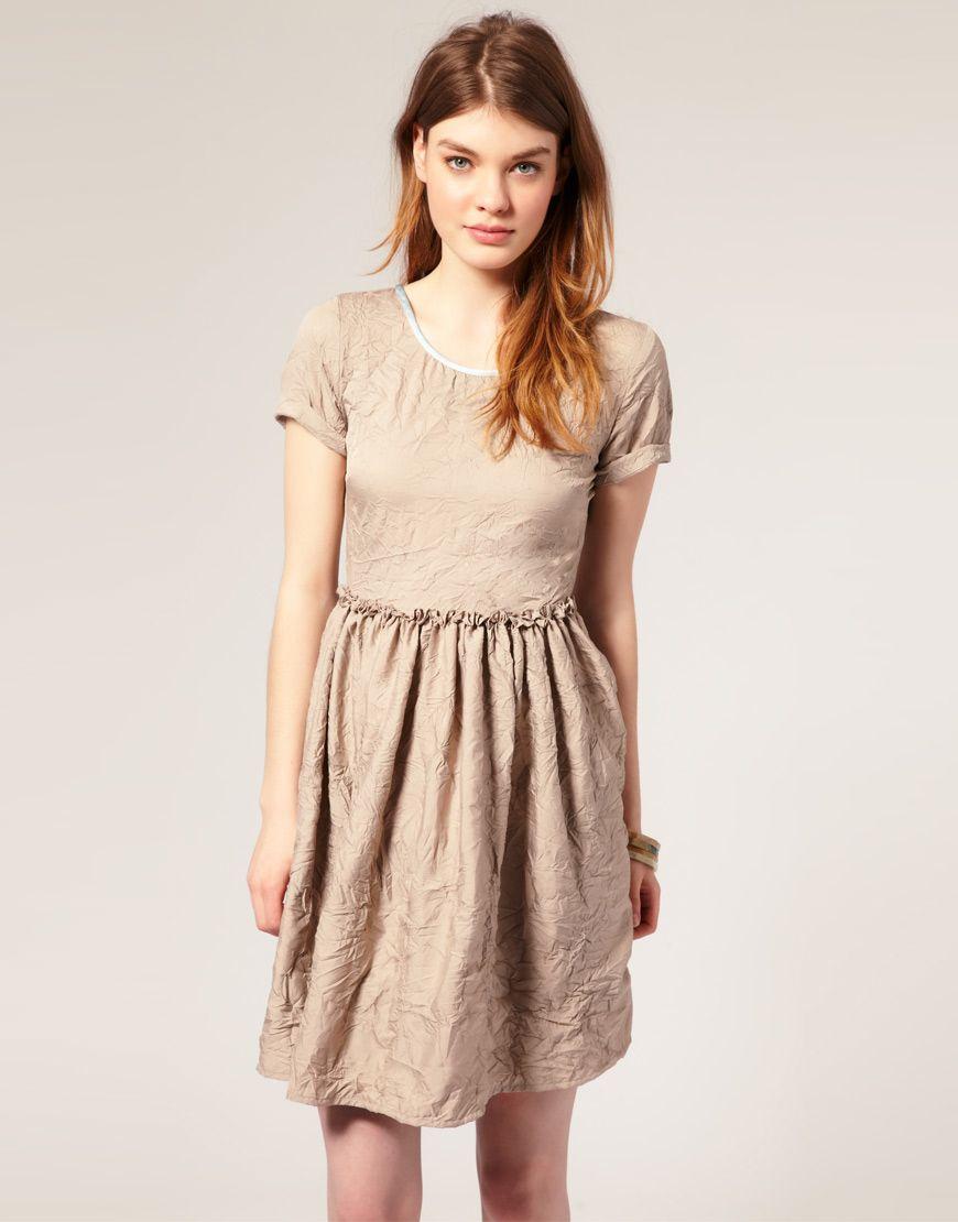 Crinkle dress my style pinterest