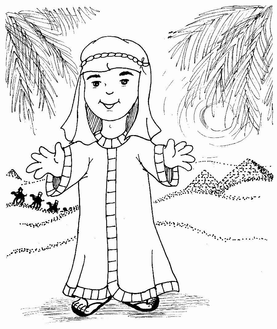 28++ Coloring page joseph coat of many colors download HD