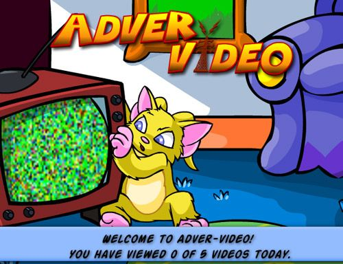 game screenshots adver video samo yellow acara television chair