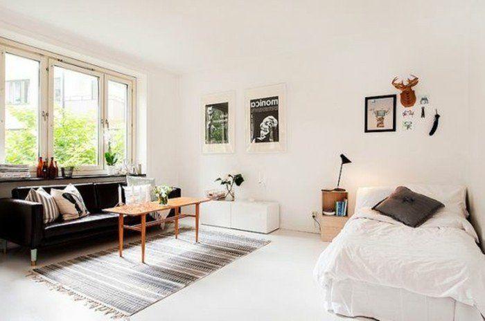 Meubler un studio 20m2 voyez les meilleures id es en 50 photos comment meubler un studio - Decorer son studio ...