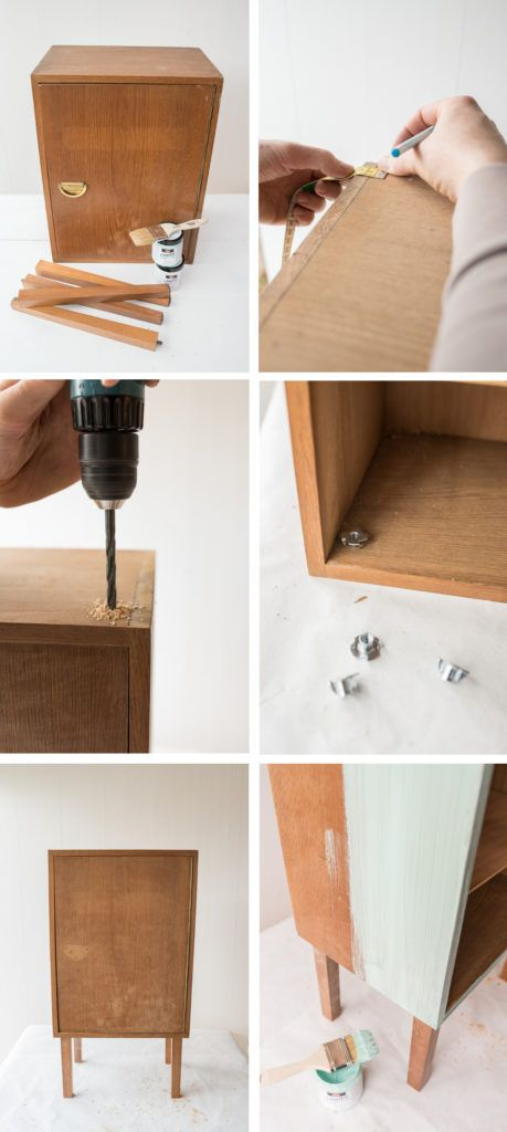 diy - bedside cabinet for the nursery + giveaway (With ...