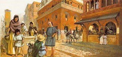 ASSOCIAZIONERIONEMONTI  LA VITA QUOTIDIANA NELLA ROMA IMPERIALE  COSTUMI cdd2d798f059