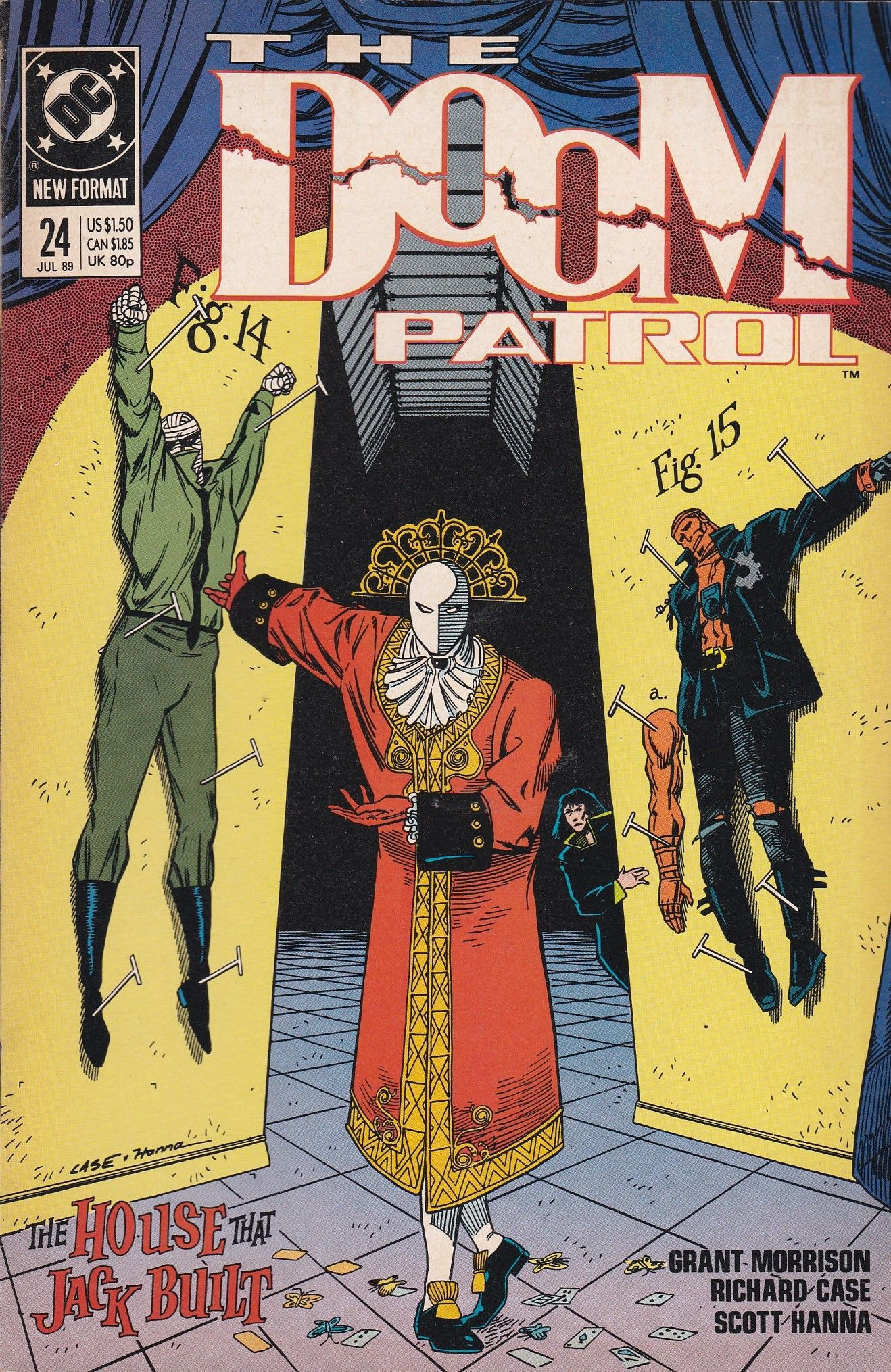Doom Patrol 24 Dc Comics Vol 2 New Format Doom Patrol Comic