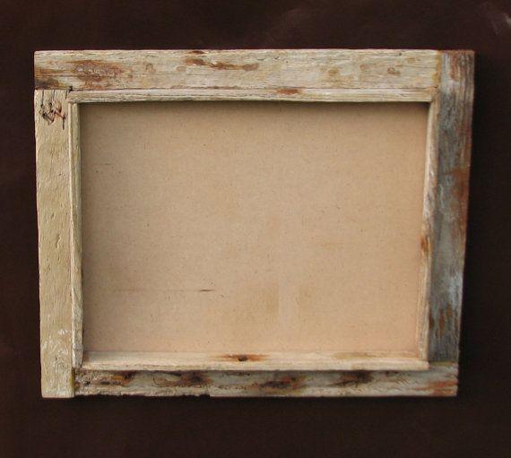 11x14 shadowbox crab trap wood frame rustic shabby chic home decor on etsy