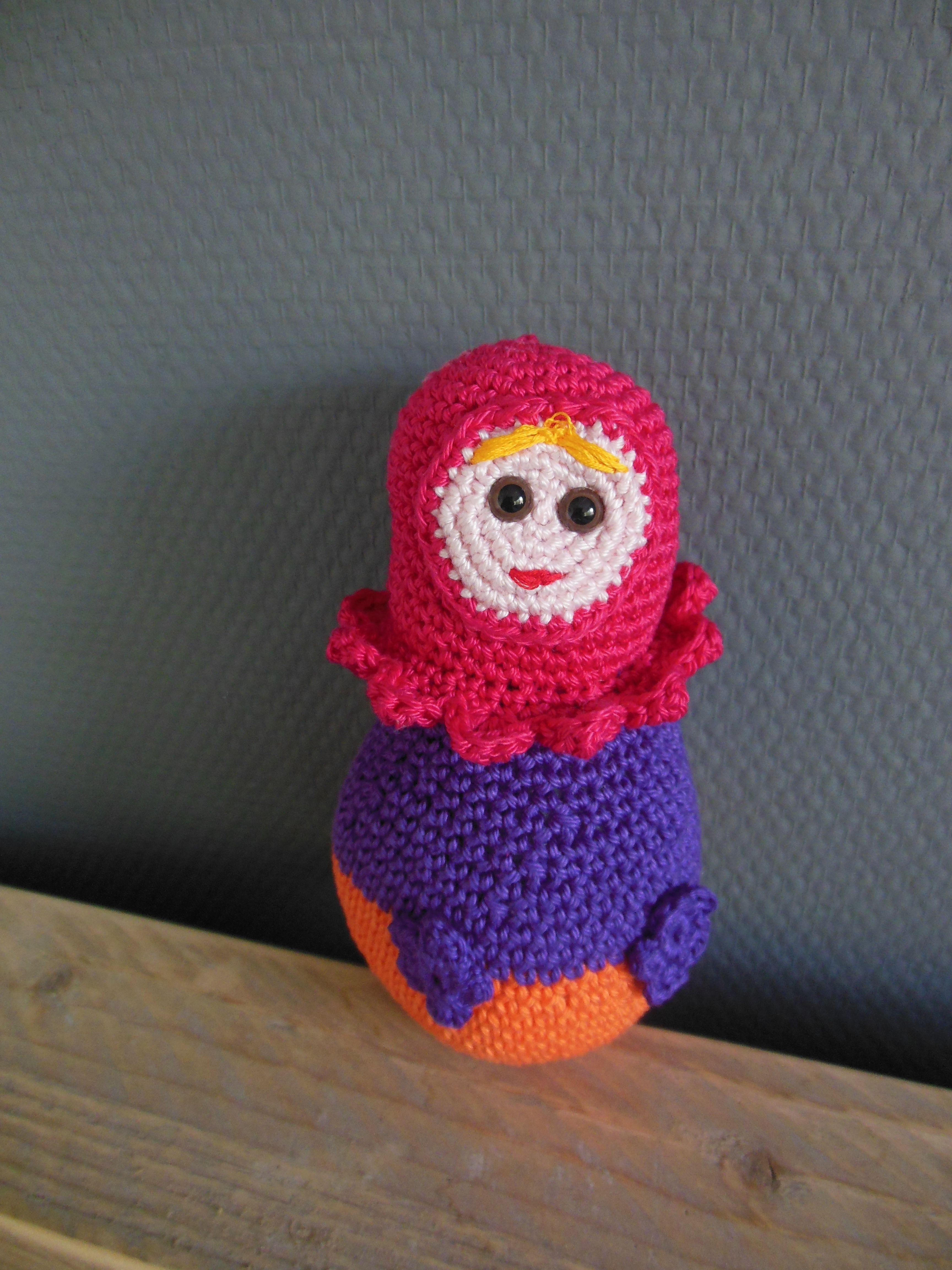 Crochet matroesjka