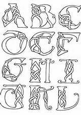 Celtic Knot Letters Colouring Pages Celtic Symbols Celtic Designs Celtic Art