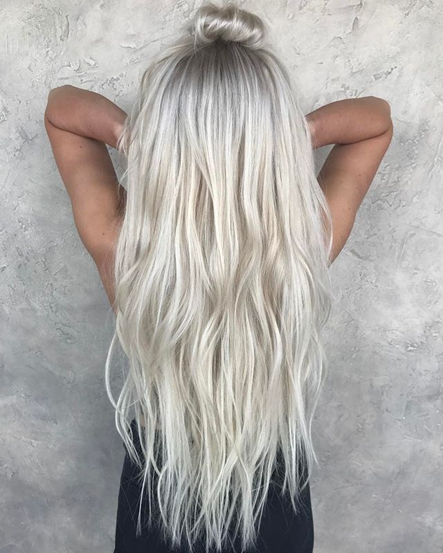 Image result for how do you achieve white icy blonde hair
