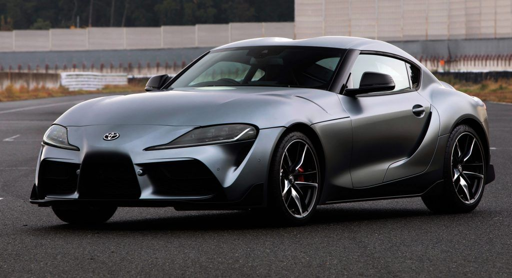 Jdm 2020 Toyota Supra Gets 2 0 Liter Turbo Four Cylinder With 194 And 258 Hp Toyota Supra Toyota Supra