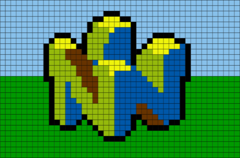 images?q=tbn:ANd9GcQh_l3eQ5xwiPy07kGEXjmjgmBKBRB7H2mRxCGhv1tFWg5c_mWT Pixel Art Nintendo @koolgadgetz.com.info